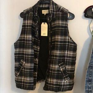 Women's flannel vest!